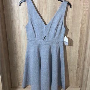 Altar'd State Grey Cut Out Tank Dress